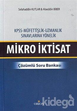 KPSS - Müfettişlik, Uzmanlık Sınavlarına Yönelik Mikro İktisat
