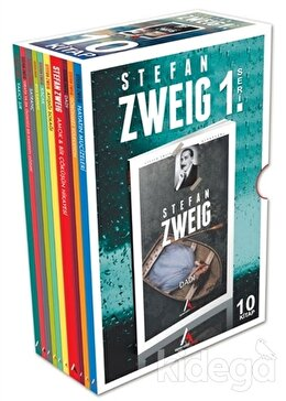 Stefan Zweig 10 Kitap (Set 1 Kutulu)