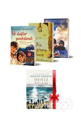 Khaled Hosseini Kitap Seti (3 Kitap Takım, 1 Kitap)