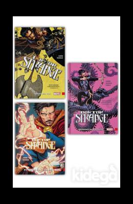 Doktor Strange Seti (3 Kitap Takım)