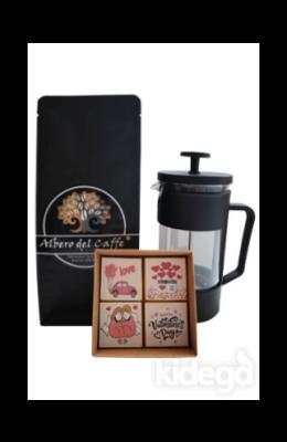 Filtre Kahve, French Press ve Çikolata