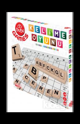 BuBu Games Ahşap Kelime Oyunu