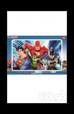 Laço Kids Justice Frame  48 Parça Puzzle