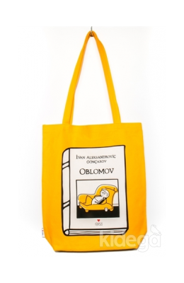 Can Dükkan Bez Çanta (Sarı Gabardin) - Laforizma Serisi – Oblomov