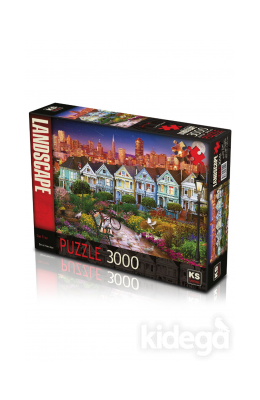 San Fran 3000 Parça Puzzle