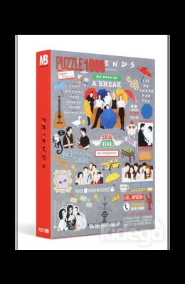 Mabbels Friends 1000 Parça Puzzle