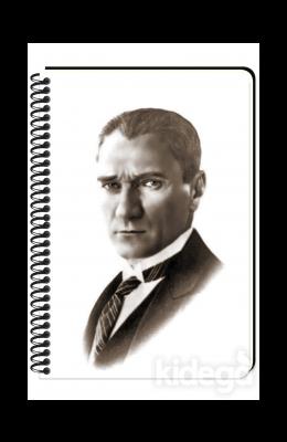 Keskin Color Atatürk - Çizgili Defter (17x24)