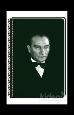 Keskin Color Atatürk - Çizgili Defter (14x20)