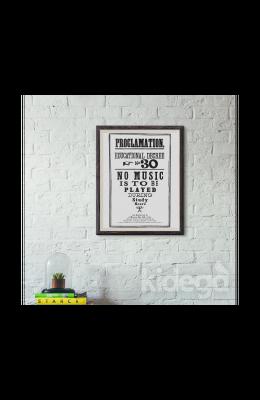 Poster - Hogwarts Proclamation No 30 Büyük