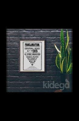 Poster -  Hogwarts Proclamation No 33 Büyük