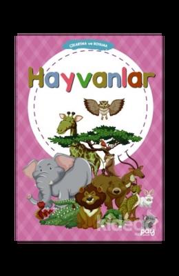 Çıkartma ve Boyama - Hayvanlar