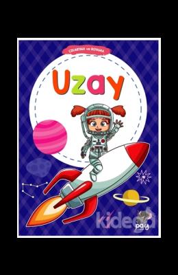 Çıkartma ve Boyama - Uzay